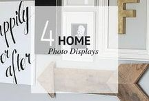 HOME // PHOTO DISPLAYS / Home - Photo Displays / by Sheena | Sophistishe