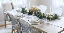 Table Tops / Tablescape inspiration for the dining room
