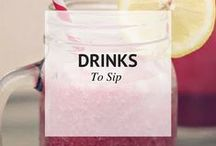 DRINKS TO SIP / Drinks to sip / by Sheena | Sophistishe