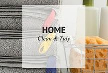 HOME | CLEAN & TIDY / Ways to keep your home Clean and Tidy / by Sheena | Sophistishe