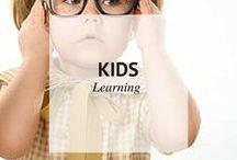KIDS // LEARNING / Kids Learning / by Sheena | Sophistishe