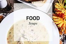 FOOD // SOUPS / Food and Soups / by Sheena @ Sophistishe