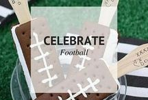 CELEBRATE FOOTBALL / Celebrate Football Season with these great recipe ideas! / by Sheena @ Sophistishe