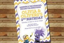 Assemble the Minions….someone is turning 6!