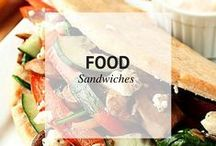 FOOD // SANDWICHES / Sandwiches / by Sheena @ Sophistishe
