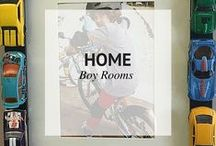 HOME // BOY ROOMS / Boy Rooms Decor Ideas / by Sheena | Sophistishe