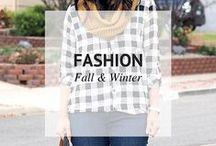 FALL & WINTER FASHION / Fall and Winter Fashion / by Sheena @ Sophistishe