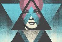 DESIGN + Diamonds & Triangles