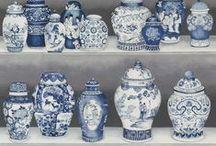 ART + China Blue