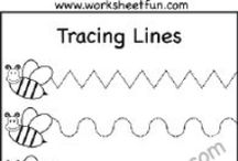 Line Tracing / by www.worksheetfun .com
