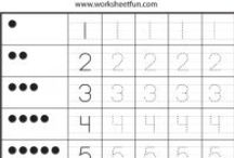 Number Tracing / http://www.worksheetfun.com/category/math-worksheetfunmenu/number/number-tracing/ / by www.worksheetfun .com