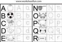 Letter Tracing / http://www.worksheetfun.com/category/letter/letter-tracing/ / by www.worksheetfun .com