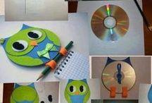 CD  диск - поделки