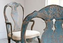 furniture inspiration / Painted furniture. Annie Sloan Chalk Paint. Inspirations for future pieces I'll paint.