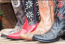Cowboy Boots {Boots} / I love cowboy boots & I can't say it enough. I'm just a little obsessed : )   Visit Horsesandheels.com for more!