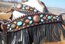 Tack {& More} / Tack, bridles, headstalls, ribbons, & all other things western & equestrian.