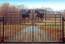 Horses & Heels {Stable Style} / A collection of beautiful barns, stables & stable tours from Horses & Heels.  http://www.horsesandheels.com