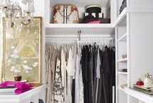 Closets & Clothing Displayings / Who said closets were just for shoes?  / by Horses & Heels