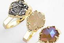 Rings {Fashion} / A collection of rings that I fancy.