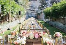 Garden Party / Gorgeous examples of garden parties set up at their prettiest