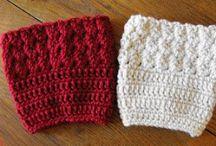 Crochet- Bootcuffs, leggings, etc. / by Laura Cole