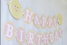 Gretchen's first birthday party