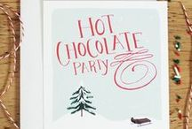 Winter Party / Inspiration for all of your winter events