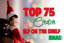 Missions for Alf the Elf / An Elf on the Shelf inspiration board