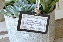 Teachers Appreciation / Teachers gift ideas, crafts, and presents