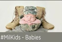 #MilKids - Babies / Need a cute fix? Look no further than this board full of adorable military babies! / by National Military Family Assoc.