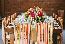 Beautiful Tablescapes / Table settings of all types that are beautiful and inspiring.