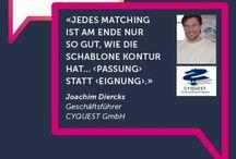 """Jobmatching / Dieses Pinterest Board sammelt Abbildungen und Beiträge zum Thema """"Jobmatching"""""""