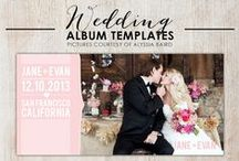 Wedding Albums / Need an idea for your wedding album? Here's some pinspiration for you!
