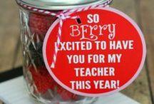 Teacher Gifts / by Cindi and Adam Murphy