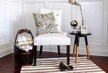 LIVING / DINING / Living room decor and decorating ideas. Modern, eclectic, traditional and everything in between.