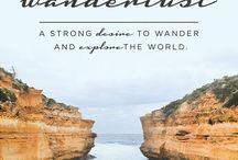 travel / die Welt / by Marissa Langston