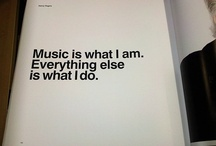 Music Quotes / Some inspirational music quotes that we love!