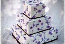 Wedding Cakes Purple / by Kim Drew