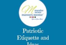 Patriotic Etiquette and Ideas / Patriotic Etiquette and Ideas. Find out awesome ways to give honor on the 4th of July, Independence Day. Celebrate our nation's heritage by showing respect and honor.