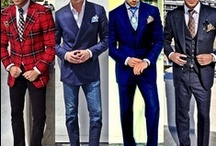 Men's Fashion / Have to say, an elegant, well dressed man has always turned me on.