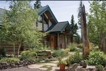 Landscaping / Here are some beautiful landscapes that would look great along with any log home.