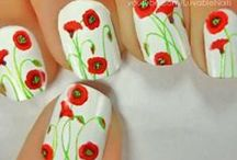 Flowers, Flowers EVERYWHERE! / A board dedicated to flowery nail art.