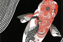 Design Garden Trends Class - Week 4 / Aqua Life, graphic lace and tribal geometrics / by Studio Mick