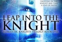 LEAP INTO THE KNIGHT / Two space-aged knights rescue a princess from captivity, only to have her stolen from them again. When she is finally returned to her home planet, she finds it destroyed. Can she make a new home with the knight she loves?