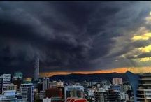 Brisbane storms November 27 2014 / Super cell storm batters Brisbane and South East Queensland - smashing windows, bringing down trees and powerlines and cutting power to tens of thousands of homes and businesses. / by ABC News