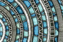 Design Garden Trends Class 2015 -Week 3 / Mandala - Relaxed Geometry - Chic Modernist / by Studio Mick