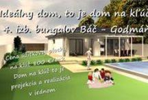 Vaše vysnívané bývanie Váš nový domov. / Vaše vysnívané bývanie Váš nový domov: Inford800@gmail.com +421 908 762 654  Ponúkame výstavbu rodinných domov- nízkoenergetických bungalovov, ktoré spájajú komfort, kvalitu stavebných konštrukcií, energetickú a finančnú úspornosť, efektivitu. • Len za 800,-€/m2 úžitkovej plochy. • GENESIS – to je projekcia a realizácia v jednom.  Dom na kľúč je nízkoenergetický bungalov realizovaný z kvalitných materiálov, zhotovený s citom pre detail, servis a inžiniering.