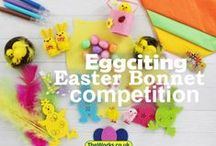 Easter Bonnet Competition / Looking for inspiration to make your Easter Bonnet? Entering The Works Easter Bonnet Competition 2016? We've got amazing products from just £1 - even the bonnets!