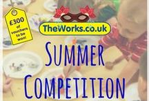 The Works Mask Competition / Ideas for your book-inspired mask creations as part of The Works' summer competition! #SummerCompetition #TheWorksCreations