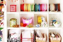 Crafting Spaces & home office / by Kellie (Sparkly Fabtastic)